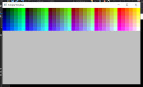 Rgb Color Chart Fltk Bumpy Road To Code