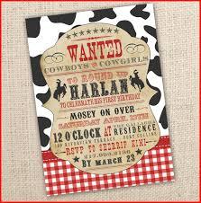 cowboy invitations cowboy invitations 87597 cowboy themed western birthday invitation 4x6 or 5x7 digital cowboy themed