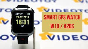 Умные часы <b>Smart</b> GPS <b>Watch</b> W10 A20S 0+ - YouTube