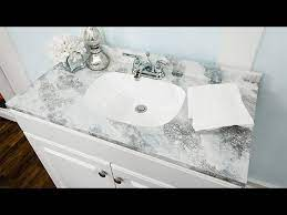 How To Ken Wingard S Diy Faux Marble Countertop Hallmark Channel Youtube
