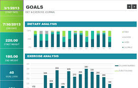 Exercise Tracking Sheet – Template Gbooks
