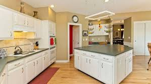 yellow and white painted kitchen cabinets. How Much Does Kitchen Cabinet Refinishing Cost Musicalpassionclub Cabinets Yellow And White Painted W