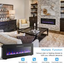 50 recessed electric fireplace in wall wall mounted standing electric heater