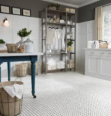 luxury vinyl tile sheet floor art deco layout design inspiration for laundry room flooring laundry room flooring trends