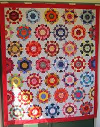 49 best Mexican quilts images on Pinterest | Quilting ideas ... & Mexican Yarns: Rose Star Quilt Top Adamdwight.com