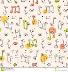 Pattern Song Best Doodle Song Pattern Stock Vector Illustration Of Wrapping 48