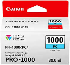 Canon PFI-1000 PC PHOTO CYAN INK TANK ... - Amazon.com