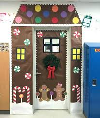 nice decorate office door. Unique Christmas Door Decorations Office Ideas Winter Wonderland Nice Decorate G