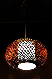 Japanese Lantern Pendant Light Us 261 41 2014 New Arrival New Light Yellow Bamboo Wooden Wood Bamboo Lantern Pendant Light Black Sheepskin Lamp Japanese Style Rustic In Pendant