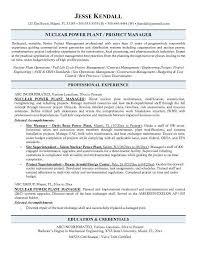 Power Plant Mechanical Engineer Resumes Power Engineer Sample Resume Engineer Resume Sample