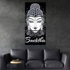 celestial buddha canvas wall art