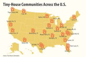 Small Picture Where People With Tiny Homes Live in the US Micro Communities