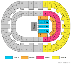 Valley View Seating Chart Valley View Casino Center Formerly San Diego Sports Arena