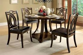 circle dining table set elegant round dining table and chair sets