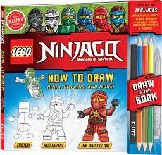FREE] Ebook LEGO NINJAGO: How to Draw Ninja, Villains and More! (Klutz): 1  PDF
