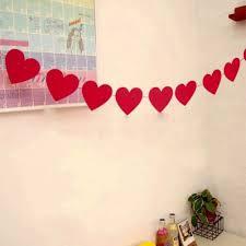 San Valentin Decoration Compra Diacutea De La Bandera Del Partido Online Al Por Mayor De