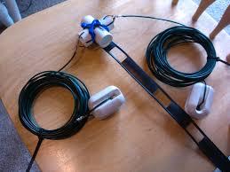 picture of g5rv jr half size ham radio antenna
