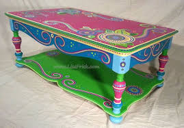 whimsical painted furniture painted