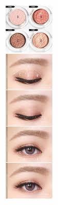 korean natural eye makeup tutorial hhe