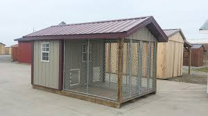 indoor outdoor dog kennel building designs
