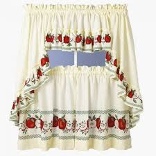 Apple Kitchen Curtains
