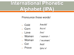 International phonetic alphabet (ipa) symbols used in this chart. Intro To Linguistics 7 Phonetics Phonetics Transcription And Supras