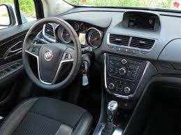 buick encore 2014. 2014 buick encore blue rear taillights interior dashboard view
