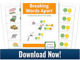 segmenting makes spelling much easier