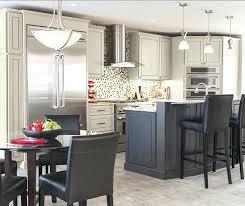 dark grey cabinets dark gray cabinets with butcher block countertops