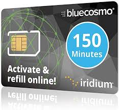 The activation web address is included with the card, but if you lose the activation sticker, go to the issuer's website and search for an activate card button. Amazon Com Bluecosmo Iridium 150 Min Prepaid Global Sim Card Satellite Phone Airtime 60 Day Expiry No Activation Fee No Monthly Fee Refillable Rollover Easy 24 7 Online Activation And Refills