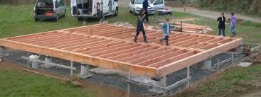 Pose Terrasse En Dalles Sur Plot Unique De Terrasse Sur Plot Beton