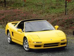 2001 Acura NSX Targa--Yellow--Side--1280x960
