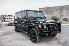 G Design Wraps Mercedes G Wagon Satin Black Incognito Wraps