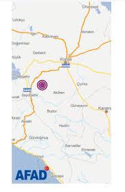 Konya Seydişehir'de deprem oldu! AFAD Konya'dan önemli açıklama (21 Nisan  2019 Pazar AFAD son depremler) haberi- Son Dakika Haberleri