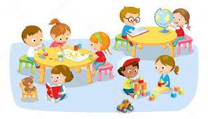 Znalezione obrazy dla zapytania dzieci w przedszkolu