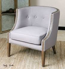 Accent Chair For Bedroom Barrel Back Accent Chair Chairs The Ojays And Gray