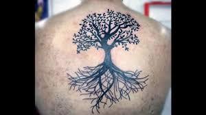 тату с деревом и птицами на руке тату дерево с птицами