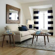Guest room rug. Alvarez Mineral Blue Wool-Blend Rug | Crate and Barrel