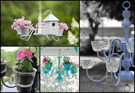 chandelier planter ideas