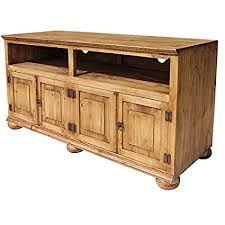 rustic pine tv stand. Delighful Stand Santana Mexican Rustic Pine TV Stand W Bunn Feet Intended Tv M
