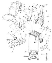 2006 chrysler town country quad seats attaching parts diagram i2117361