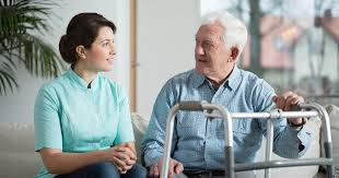 The Service Of Home Care Elderly Needs Trade Card Pictures
