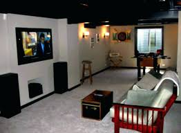 Basement Lighting Design Delectable Best Unfinished Basement Lighting Ideas Ceiling Paint With Amazing