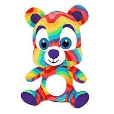 Rainbow Bear 3 5lb Weighted Animal Hippo Hug