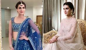Kriti Sanon In Lehenga Is A Walking Guide For The To Be Brides