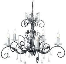 black 5 light chandelier black and silver 5 light chandelier made ivana 5 light antique black