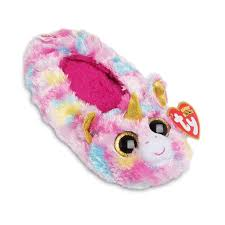 Beanie Boo Slippers Size Chart Galleon Ty Beanie Boos Kids Girls Plush Fantasia Unicorn