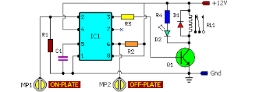 wiring diagram ref on off touch switch circuit wiring diagram ref