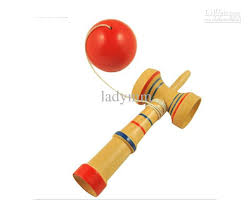 Wooden Ball And Cup Game Magnificent 32323232cm Kendama Cupandball Game Kendama Japanese Toy Wooden Toy