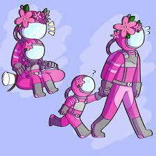 <b>among us pink</b> | Cute art, Cute comics, Cute drawings